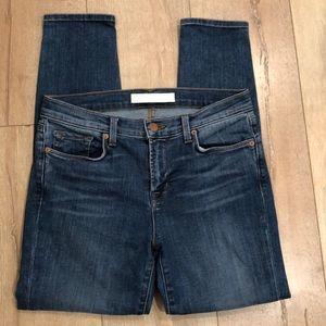 J Brand Skylight Capri Skinny Jeans